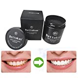 Holeider Teeth Whitening Powder, Natürliches Aktivkohle Zahnaufhellung Pulver Carbon Coco Organische Holzkohle Natürlich Zahn Polieren (A)