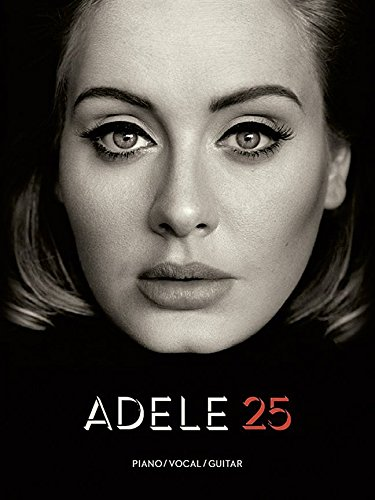 Adele-25-Songbook-fr-Piano-Gitarre-Gesang-PVG