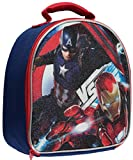 """Best Ruz Lunch Boxes - Captain America """"Vs Iron Man"""" Insulated Lunchbox Review"""