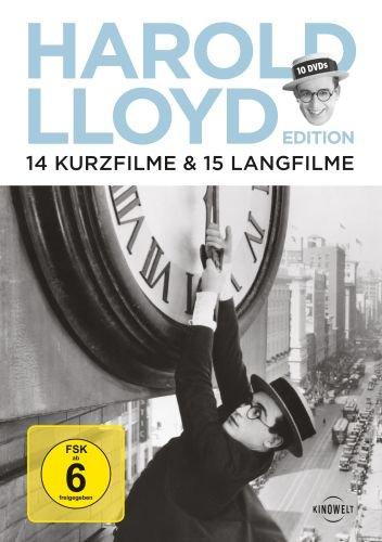 Harold Lloyd Edition - 14 Kurzfilme & 15 Langfilme (OmU) [10 DVDs]