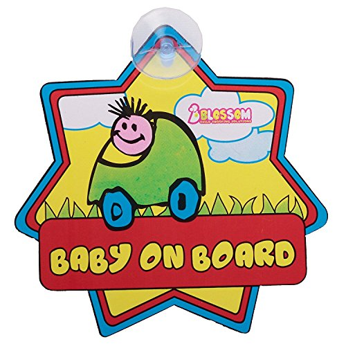 Blossom Child Proofing 7 Baby on Board (Multicolor)