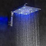DELOVE Moderne Regendusche Chrom Eigenschaft - Regenfall, Duschkopf
