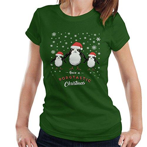 PORG Have A Porgtastic Christmas Star Wars Women's T-Shirt
