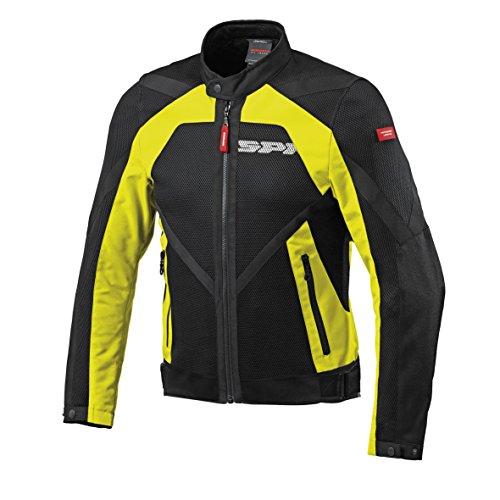 SPIDI Motorrad Textile Jacke Netstream, Yellow, Größe 3XL