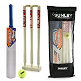 #7: Sunley Wooden Cricket Kit Combo
