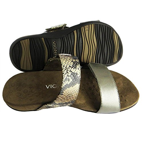 Vionic Womens Rest Camila Synthetic Sandals Braun