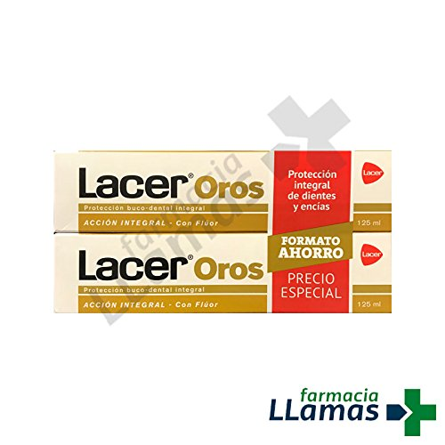 LACER Oros Pasta Dental Acción Integral Duplo 125 ml