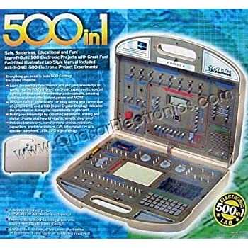 500 in 1 Electronic Project Lab Kit