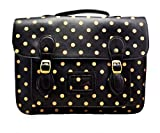 LeahWard® Ladies Girl's Women's School Satchel Bags Handbags Large College Bag Butterfly Owl Horse Dotty Dot Fashion Designer Quality Faux Leather Bag