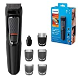 Philips Series 3000 7-in-1 Multi Grooming Kit for Beard and Hair with Nose