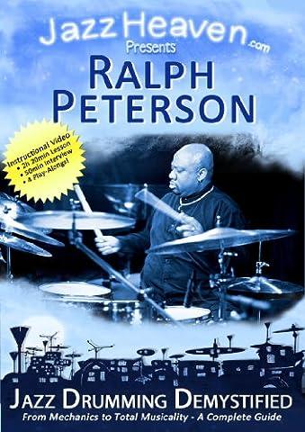 Jazz Drum Lesson DVD Ralph Peterson Jazz Drumming Demystified Instructional