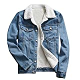 Frauen Herbst Winter Denim Upset Jacke Vintage Langarm lose Jeans Mantel YunYoud modische frauenjacke herbst damenjacken aktuelle winterjacken übergangs daunenjacke baumwolljacke