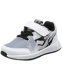 sneakers for cheap e12ea b4c88 adidas Star Wars El I, Sneakers Basses Mixte Enfant, Noir (NegbasGris