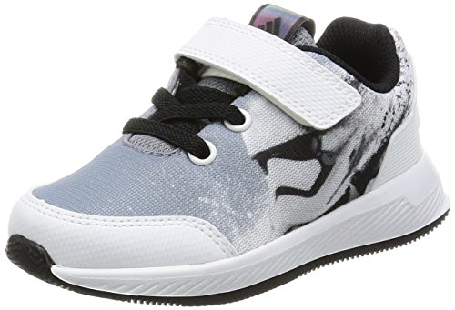 adidas Star Wars El I, Sneakers Basses Mixte Enfant, Noir (Negbas/Gris/Ftwbla), 25 EU