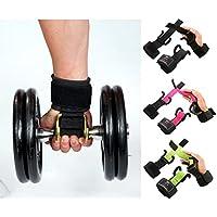 Islero Gewicht Zughilfen Haken Gym Handgelenkbandage Wraps Griff Paar-Gear preisvergleich bei billige-tabletten.eu