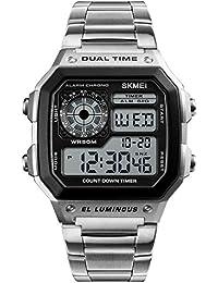 Skmei Marke Herrenuhren Led Digitaluhr Männer Armbanduhr Schwarz Alarm 50 Mt Wasserdichte Sport Uhren Für Männer Relogio Masculino Herrenuhren Digitale Uhren