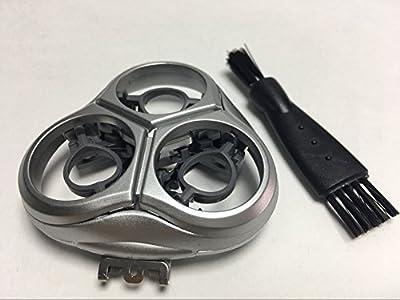 New Shaver Head Holder Frame Cover & Blade Plate For Philips Norelco HQ 9100XLCC 9140XLCC 9150XLCC 9160XLCC 9170XLCC 9171XLCC Q9195XLCC 9199XLCC 9190XLCC Shaving Replacement Parts Silver