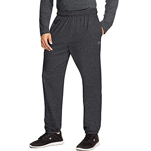 Champion Men's Closed Bottom Light Weight Jersey Sweatpant - Closed Bottom Sweatpant