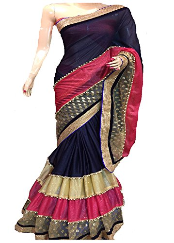 JagreetiImpex-Multi-color-havy-Work-saree-saree