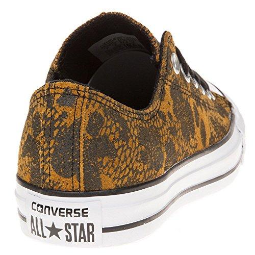 Converse All Star Ox Femme Baskets Mode Fauve Fauve