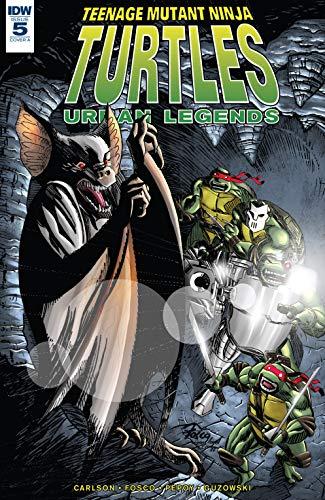 Teenage Mutant Ninja Turtles: Urban Legends #5 (English ...