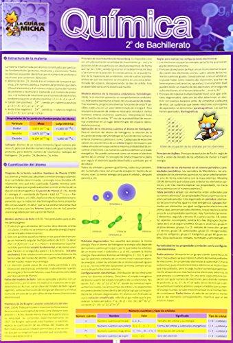 La Guía de Micha: Química, 2º de Bachillerato (Guia De Micha) - 9788493645588