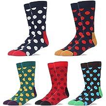 RioRiva Calcetines cortos De Algodón Calientes De Trabajo Y Ocio Para Hombre,Otoño e Invierno