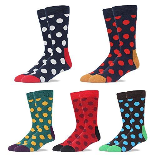 RioRiva Calcetines cortos De Algodón Calientes De Trabajo Y Ocio Para Hombre,Otoño e Invierno,Multicolor