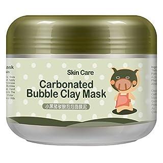 Travelmall Carbonated Bubble Clay Maske, Deep Clear Oxygen Bubbles Schlamm Maske, Whitening Oxygen Mud Feuchtigkeitscreme Deep Cleanse (Maske)