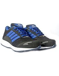 Fleetfoot Shoes, Latest Sport Shoes For Men & Boys, Shoes, Size No.6 Color - Black And Blue