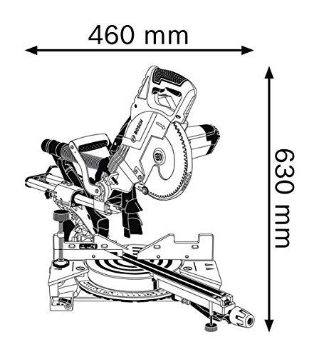 Bosch Professional GCM 8 SJL Kapp und Gehrungssäge - 5