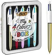 BIC My 4 Colours Box - Stylos-Billes, Boîte de 5