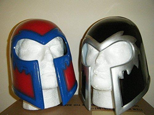 2 x Magneto Helm Cosplay Deluxe Halloween Monster Kopfmaske X-Men (Magneto Kostüm)