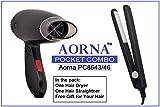 Best Travel Hair Dryers - Aorna Dot Com Combo Of Pocket Hair Straightener Review