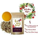 [Sponsored]Tea Treasure | Immunity Booster Whole Leaf Tea | Natural Ingredients: Green Tea, ConeFlower, Licorice, Lemongrass...