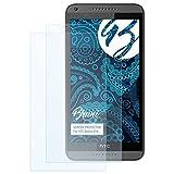 Bruni Schutzfolie kompatibel mit HTC Desire 816 Folie, glasklare Bildschirmschutzfolie (2X)