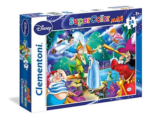 clementoni-24467-peter-pan-maxi-puzzle-24-pezzi