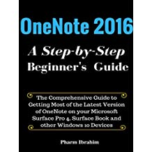 OneNote 2016: A Step-by-Step Beginner's Guide (English Edition)