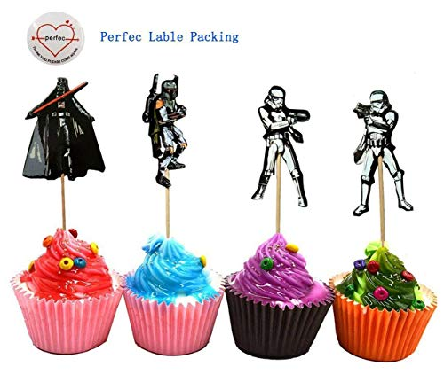 ake Topper Party Pack für 24 Cupcakes ()