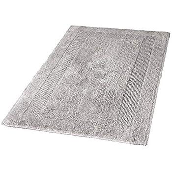 Kleine Wolke Quot Arizona Quot Bath Rug 80 X 140 Cm Silver Grey
