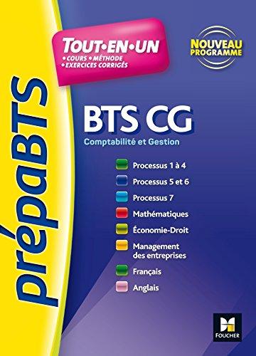 PREPABTS - Toutes les matières - BTS CG - Nº4