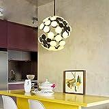 36 lumière boule moderne pendentif lumière...