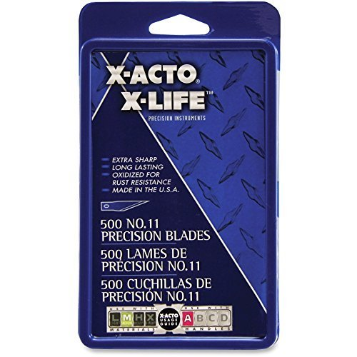 x-acto-no11-classic-fine-point-x-life-refill-blade-11-styledurable-self-sharpening-rust-resistant-ca