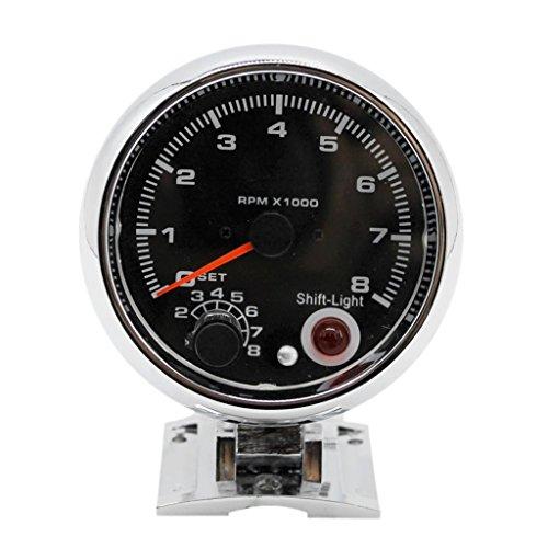 "Preisvergleich Produktbild Homyl 3.75"" Motorrad-Odometer LED-Digital-Tachometer-Messgerät-Hintergrundbeleuchtung"