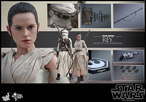Figura-Hottoys-Star-Wars-Rey-28-Cm