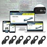 Ultradeal 6X Webcam Shutter Slider plastica Cover Sticker iPad Phone PC Laptop DC837