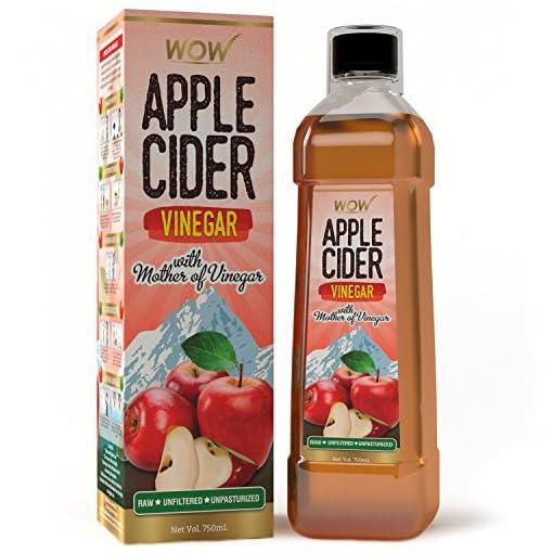 - 51nR5D1oSTL - WOW Raw Apple Cider Vinegar – 750 ml