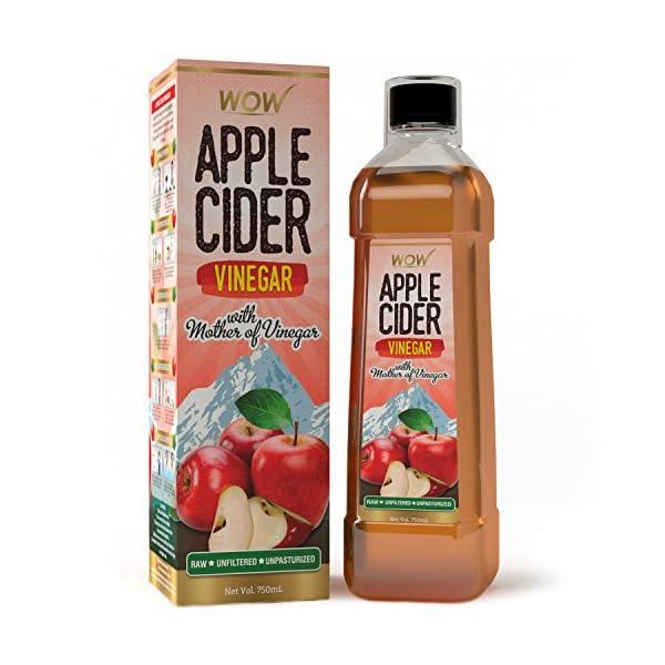 WOW Life Science Organic Apple Cider Vinegar – 750 ml