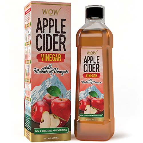 WOW Raw Apple Cider Vinegar - 750 ml - with...