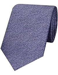 Tiekart Blue Impression Micro Fiber Necktie for Men